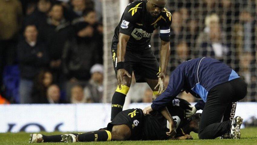 Muamba s-a retras din fotbal după infarctul suferit anul trecut