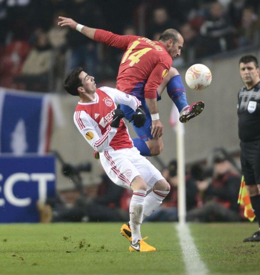Cuenca, în duel cu Latovlevici, va fi menajat astăzi pentru duelul de pe Național Arena Foto: Alex Nicodim