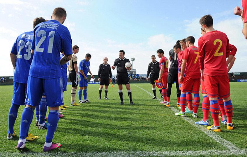 Unul dintre meciurile conduse de arbitrul anonim a fost cel cu Dinamo Moscova, scor 1-2