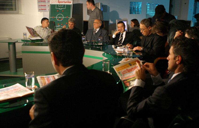 2004 Emisiune de colecție. Printre invitați: Gigi Becali, Cristi Borcea, Gică Popescu, Sorin Cîrțu, Gino Iorgulescu și regretatul Traian Tomescu