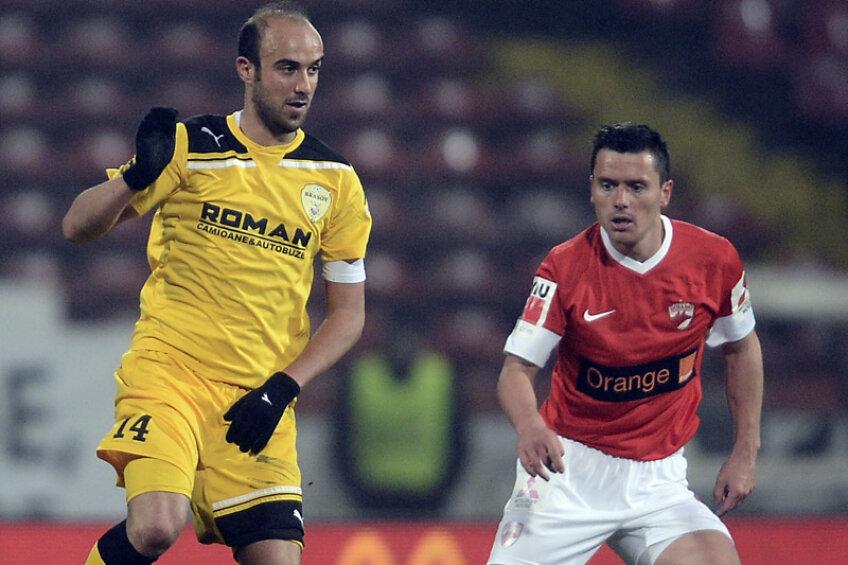 Păun a aparținut de Dinamo în perioada 2006-2012, însă a fost mai mult împrumutat, bifînd doar 7 partide în alb şi roşu