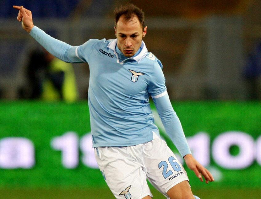 Ştefan Radu trece printr-o perioadă bună la Lazio, fiind al treilea căpitan al echipei.