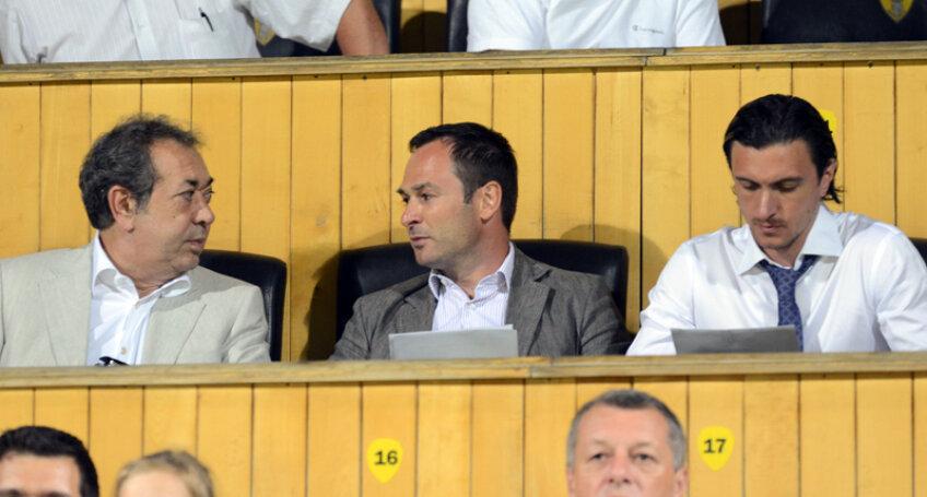 Badea, Negoiţă şi Săvulescu deţin în acest moment pachete similiare de acţiuni la Dinamo
