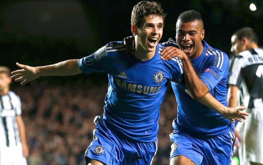 Oscar l-a impresionat pe Raţ la dubla dintre Chelsea şi Şahtior Foto: Reuters