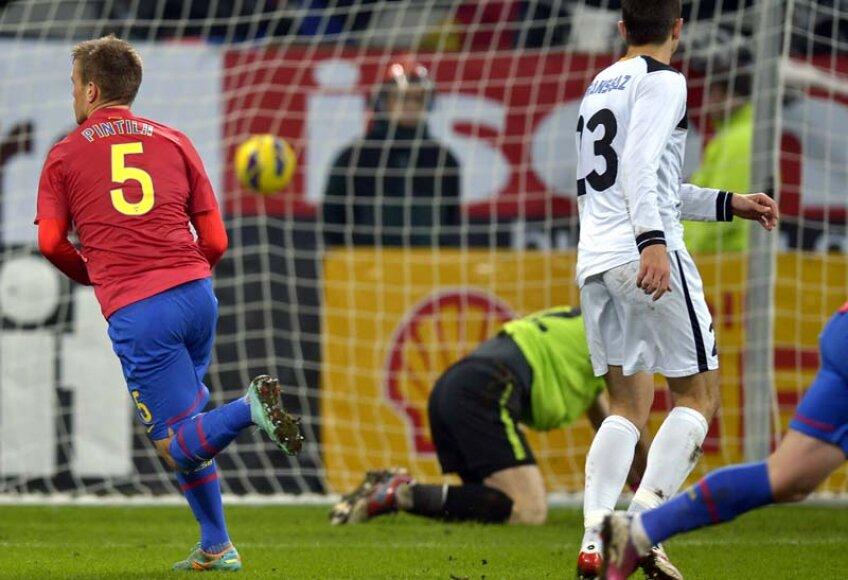 Mihai Pintilii a marcat trei goluri în acest sezon al Ligii 1