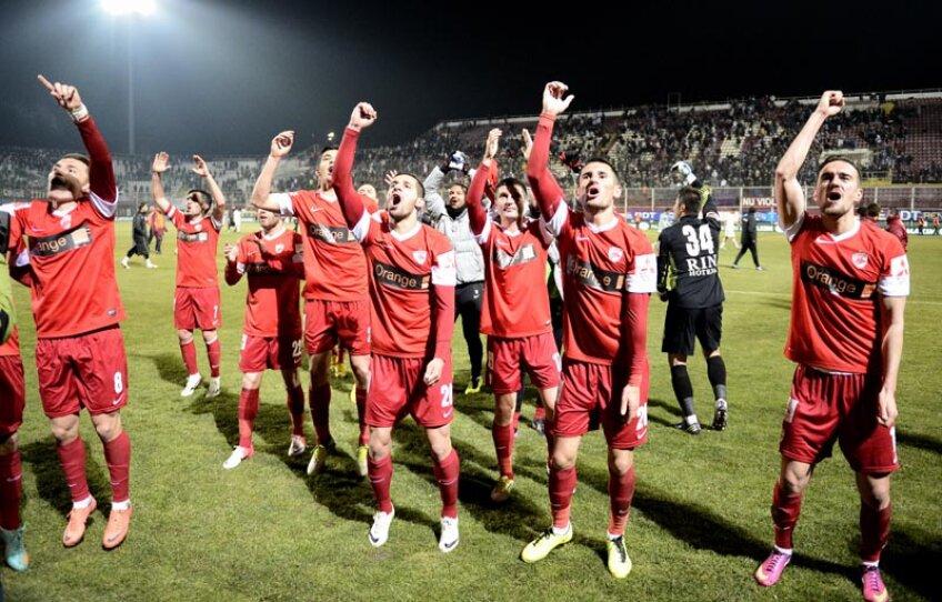 Dinamoviștii au cîștigat în Giulești, iar acum așteaptă ca șefii să le mai achite din restanțele financiare pe ultimele 3 luni