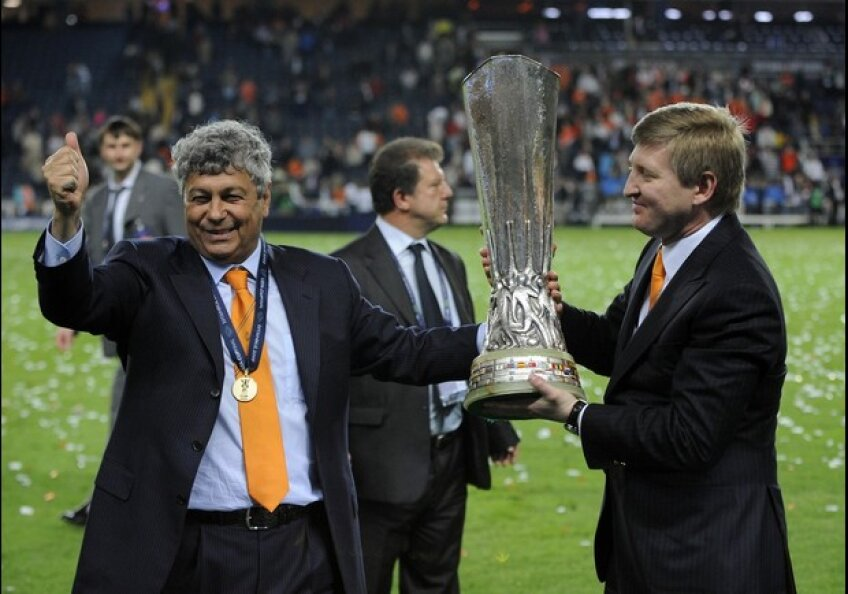 Mircea Lucescu şi Rinat Ahmetov