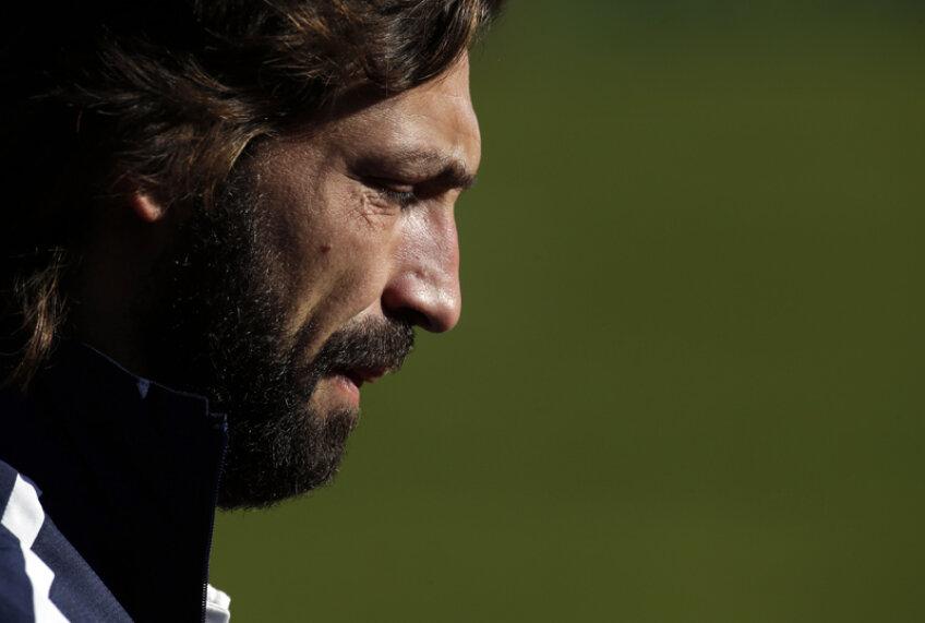 Pirlo a căzut pe gînduri înaintea returului cu Celtic