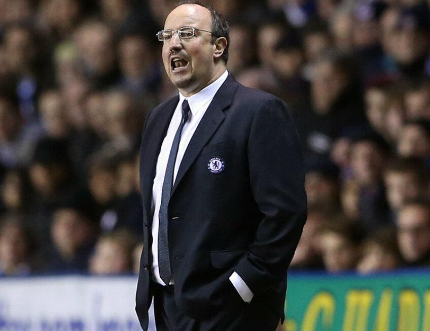 Benitez nu mai este dorit la Chelsea nici de jucători, nici de suporteri.