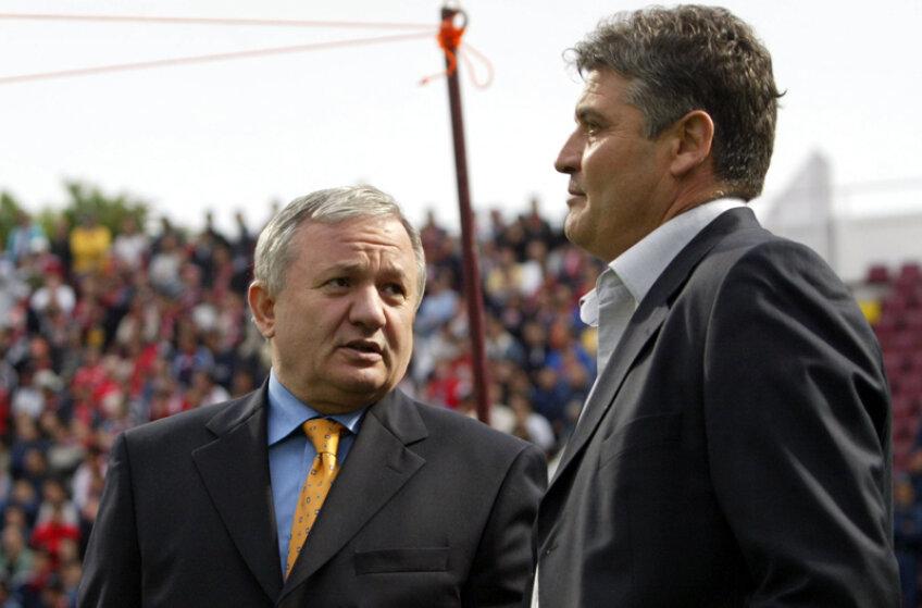 Porumboiu şi Andone ar putea colabora din vară la Rapid.