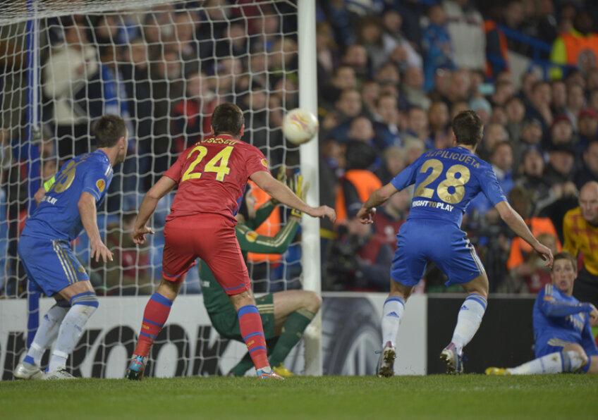 Golul lui Chiricheş, insuficient pentru calificare.