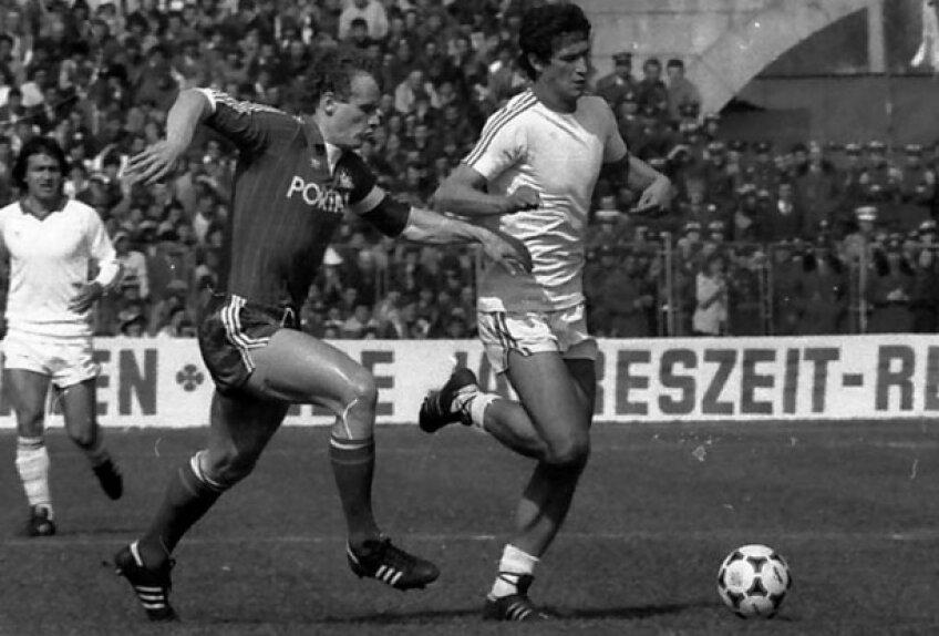 Rodion Cămătaru în meciul Craiova - Kaiserslautern