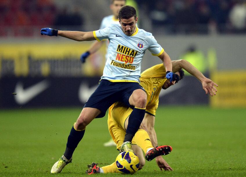 Chipciu a marcat unicul gol al meciului cu Vaslui.