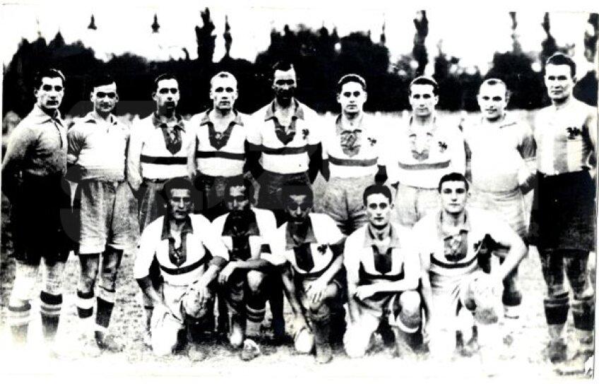 Echipa lui CAO în 1935, anul în care a ieșit vicecampioană