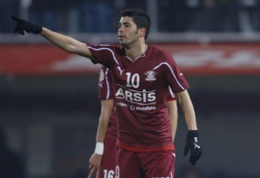 Herea a înscris două goluri în amicalul cu Ştefăneşti