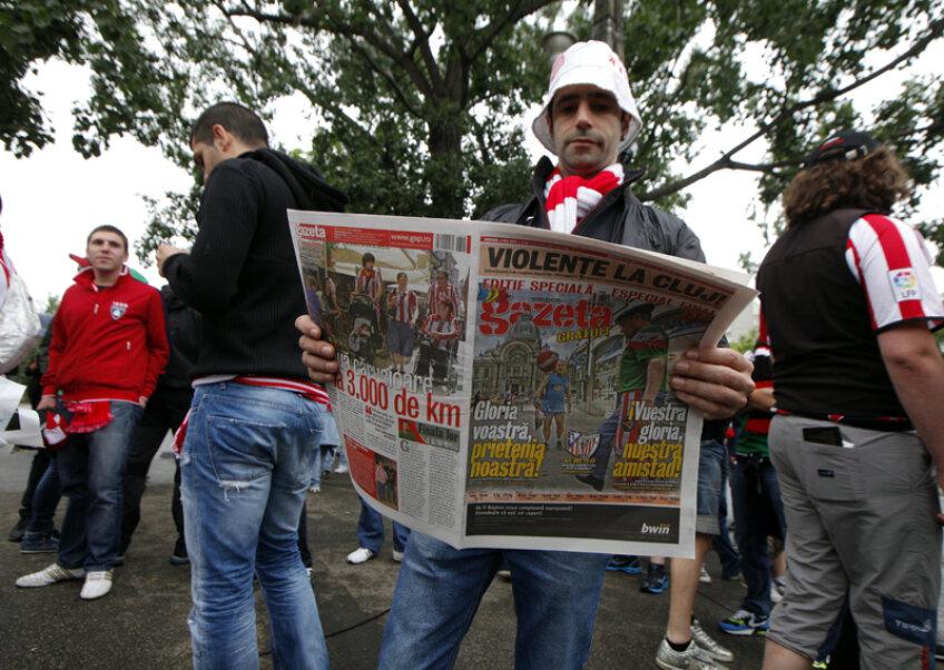 Gazeta și-a surprins mereu cititorii cu idei noi: în ziua finalei Europa League am publicat o ediție bilingvă, în română și spaniolă