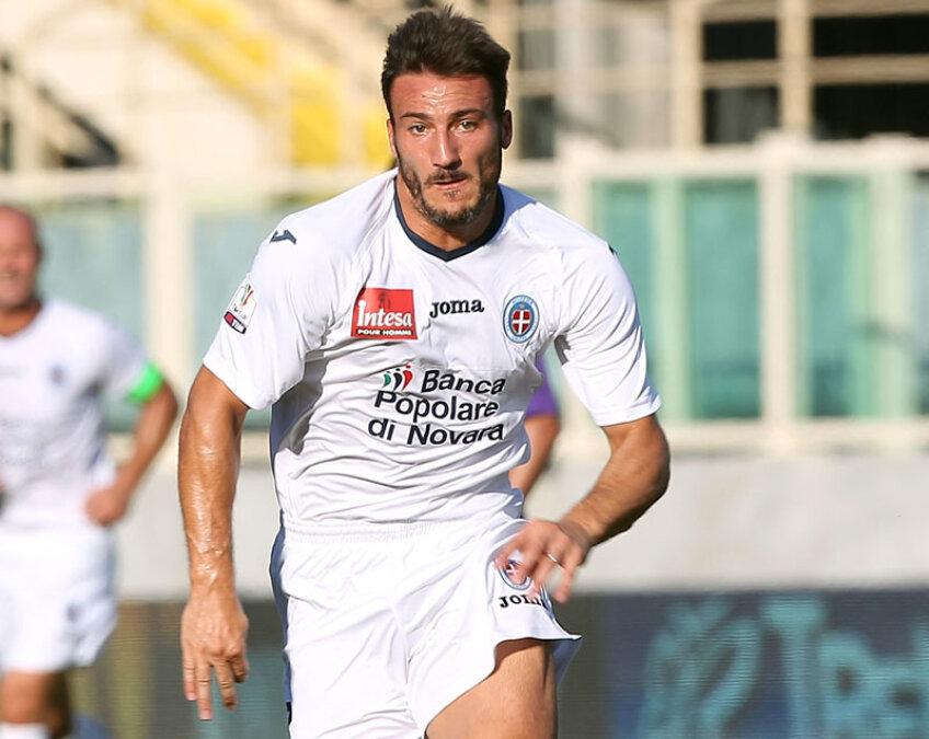 Piovaccari a marcat 7 goluri pentru Grosseto în sezonul trecut din Serie B