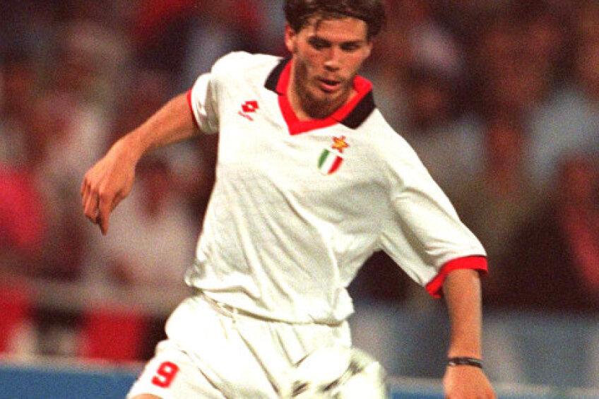 Boban, în perioada în care evolua la AC Milan