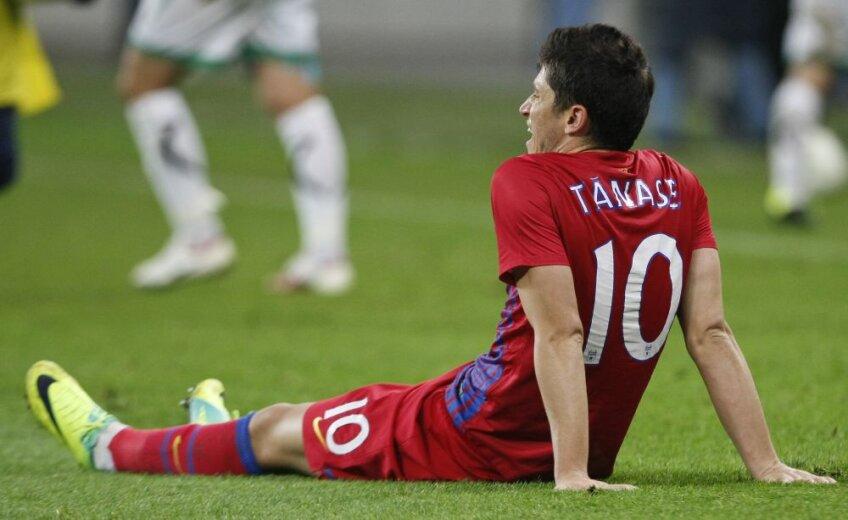 Tănase a reușit în acest sezon două goluri și două pase de gol