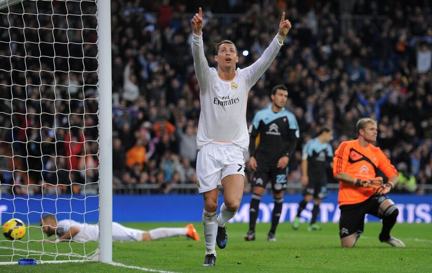 Ronaldo i-a dedicat golurile lui Eusebio, legendarul star portughez, decedat duminică la 71 de ani