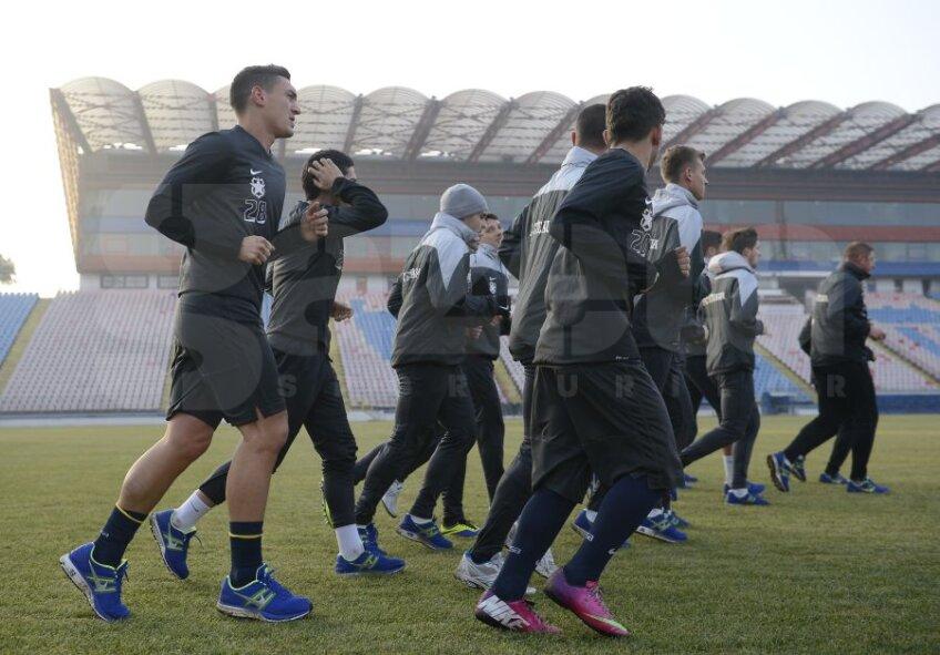 Antrenament Steaua, foto: Alex Nicodim