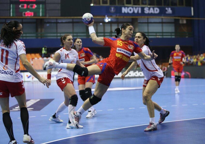 Valentina Elisei-Ardean a marcat 12 goluri pentru echipa României la CM din Serbia // Foto: Marius Ionescu