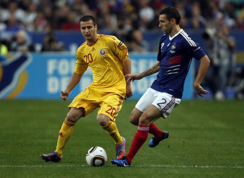 Ianis Zicu, în tricoul naţionalei