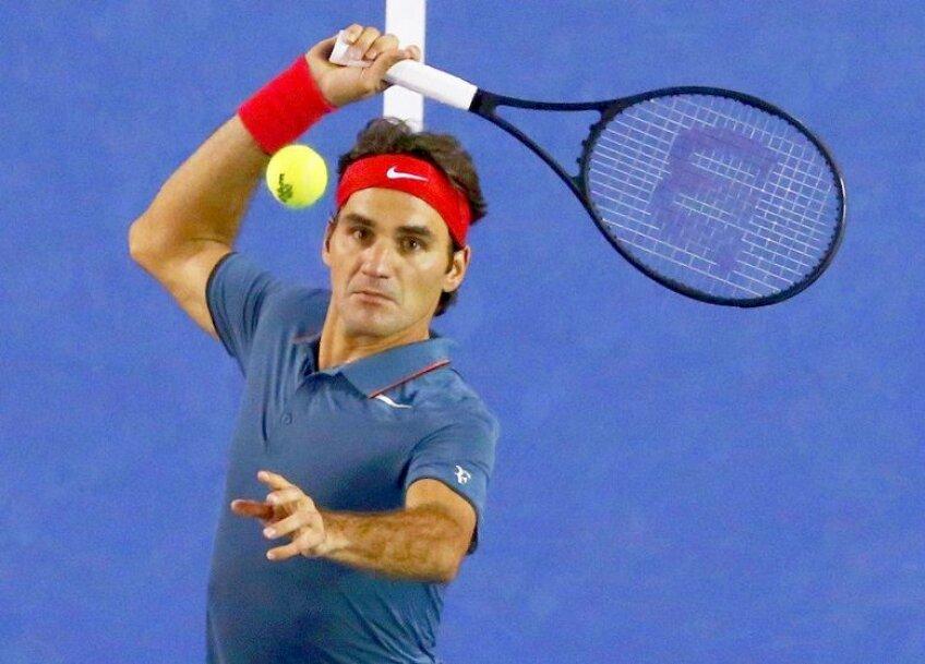 Roger Federer are un serviciu excelent în acest Australian Open, foto: reuters