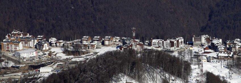 Satul olimpic de la Soci