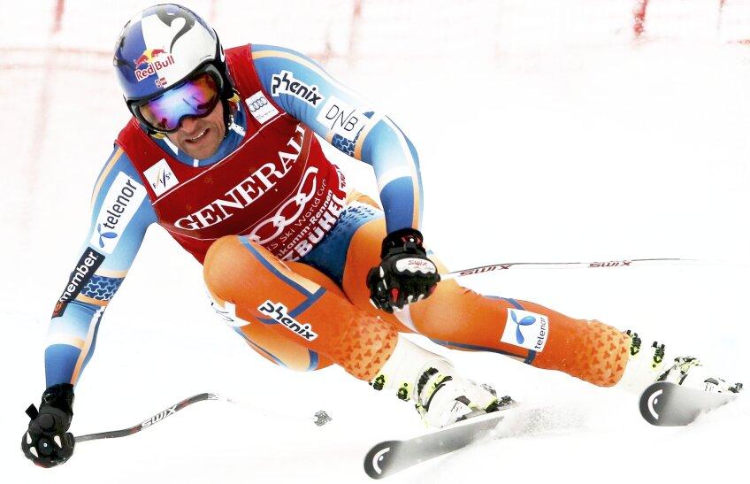 Norvegianul Aksel Lund Svindal e unul dintre favoriții la aur la schi alpin, foto: reuters
