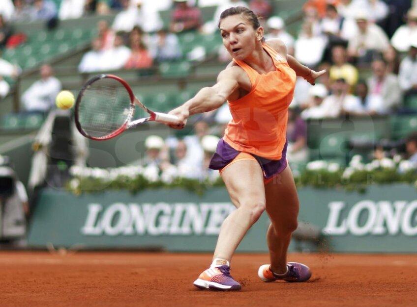 Simona Halep la Roland Garros, foto: reuters