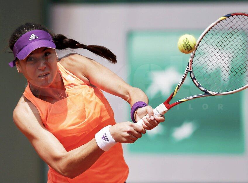 Sorana Cîrstea la Roland Garros, foto: reuters