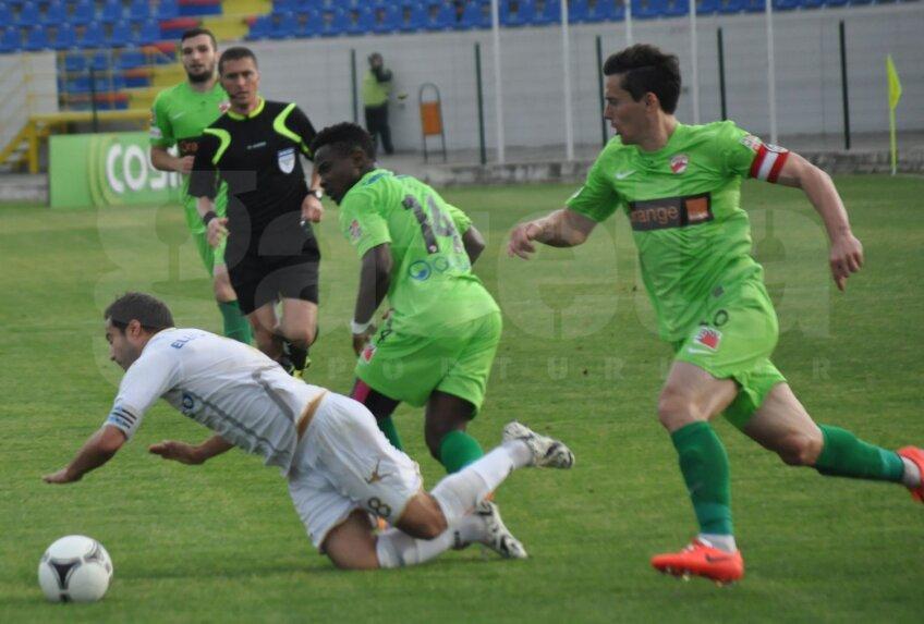 Rus a fost liderul din teren al roș-albilor, în ultima etapă, la Botoșani, 2-1 pentru Dinamo