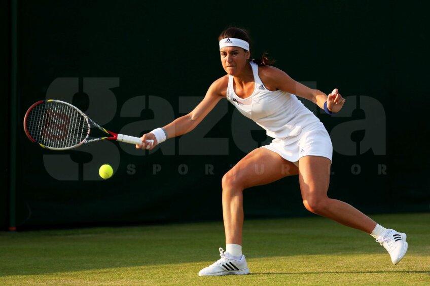 Sorana Cîrstea este autoarea celor mai bune performanțe românești la Wimbledon din ultimii cinci ani // Foto: Guliver/GettyImages