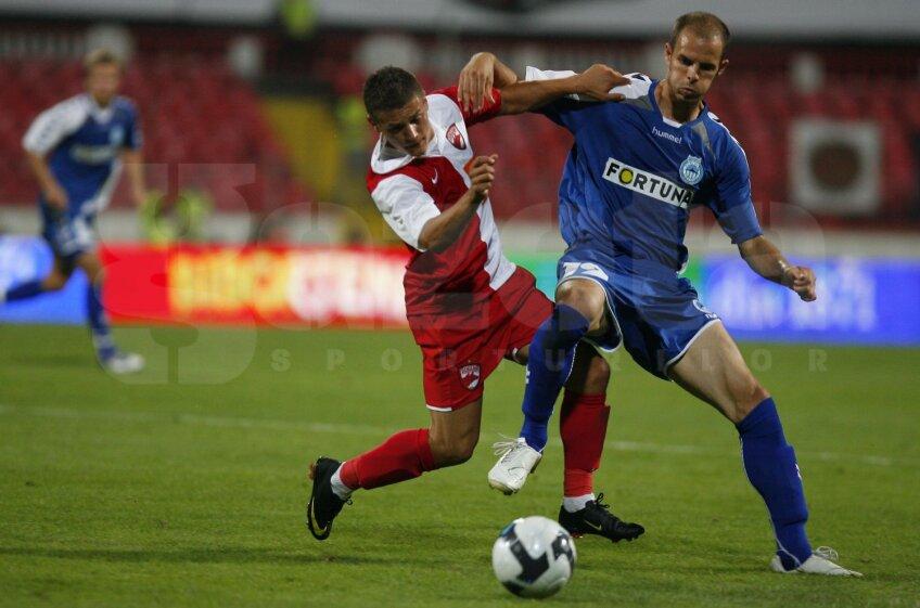 Acum 5 ani, Torje și ceilalți dinamoviști au trecut dramatic de Liberec: 0-3, 3-0, 9-8 după penalty-uri