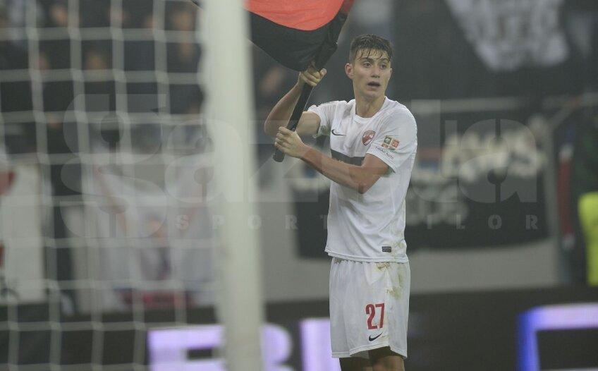 Nedelcearu a ajuns titular pe final de sezon la Dinamo, iar acum ar putea ajunge la o forță a Italiei
