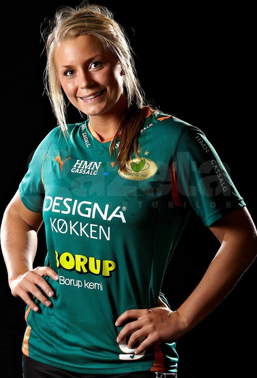 Isabelle Gullden, 25 de ani, joacă la Viborg din 2010 şi e una dintre cele mai bune jucătoare