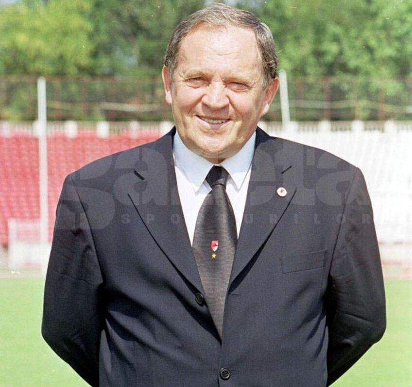 Mircea Steoenescu, ex-preşedinte Dinamo