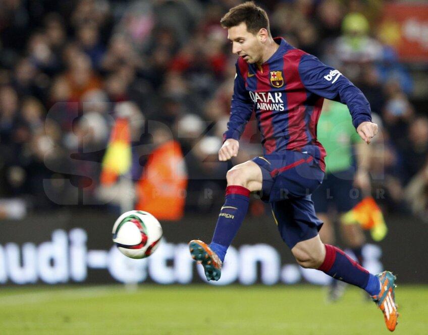Messi nu driblează doar adversarii, dar fentează tot mai des și plata impozitelor  // Foto: Reuters