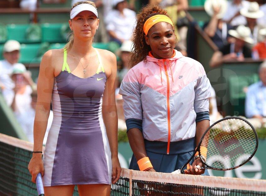 Serena și Maria se întîlnesc din nou într-o finală de Mare Șlem
