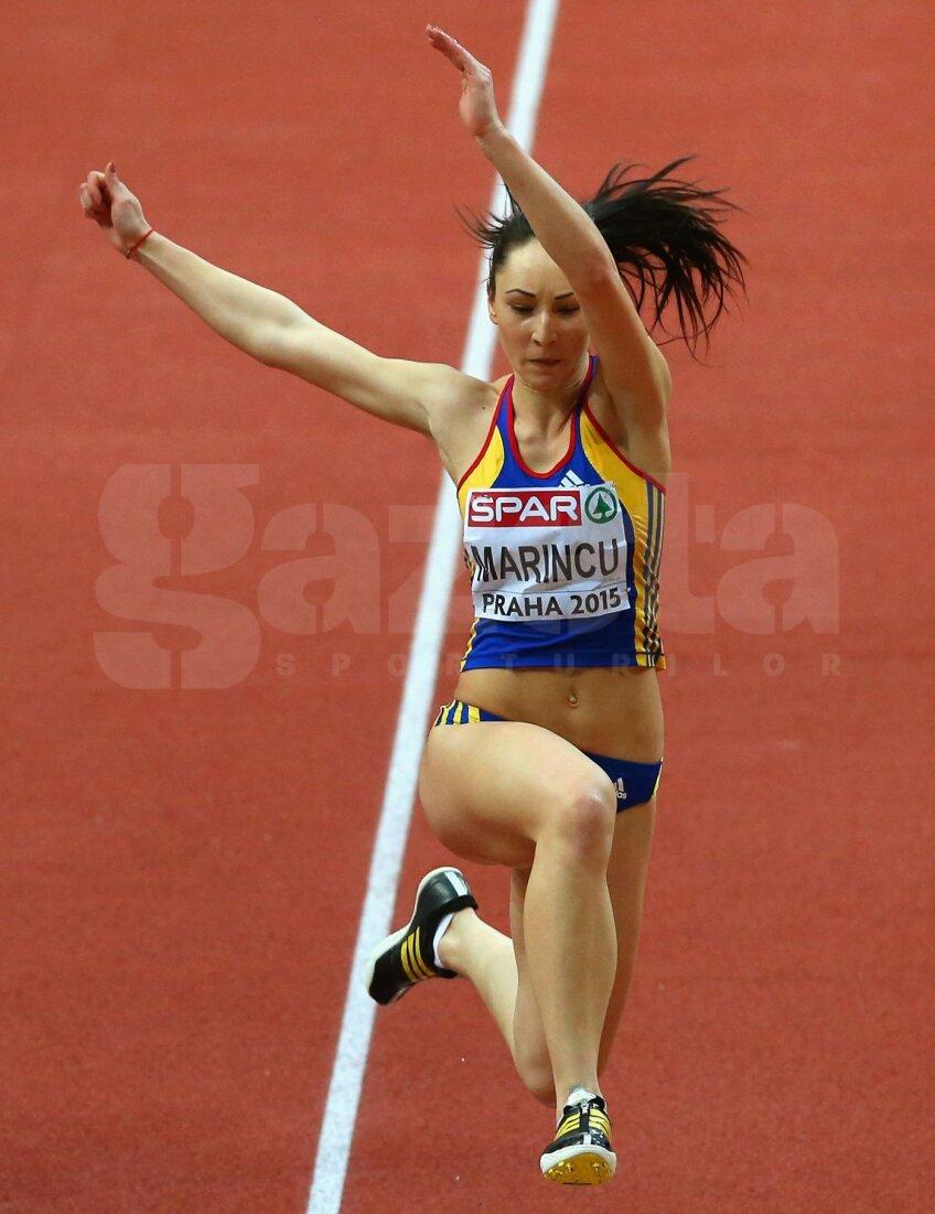 Florentina Marincu a reuşit în concursul de la Praga să îmbunătăţească de două ori recordul european de junioare