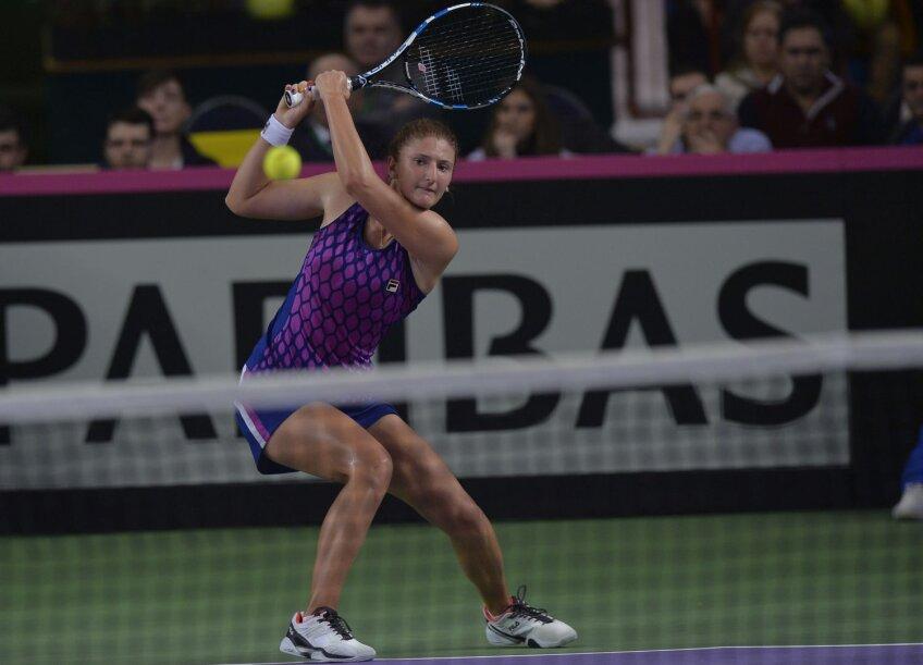 Irina Begu avea, înaintea meciului de ieri, 10 victorii şi 6 înfrîngeri în patru întîlniri de Cupa Fed // Foto: Cristi Preda