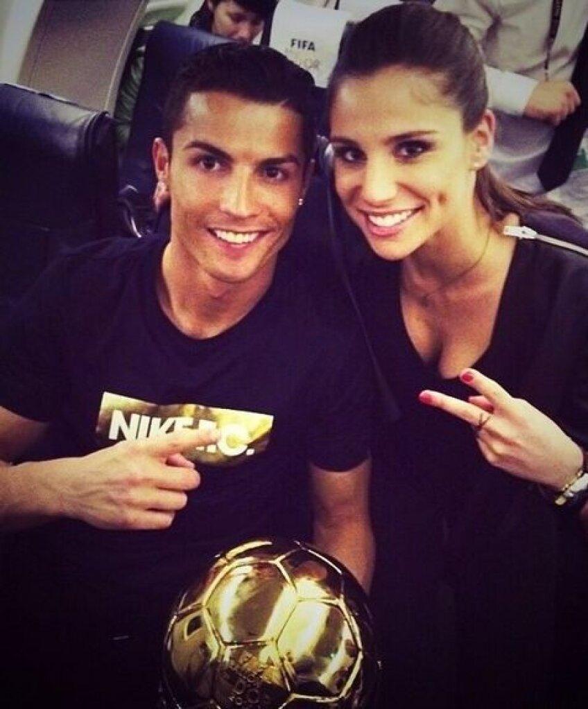 Lucia și Ronaldo, doar amici