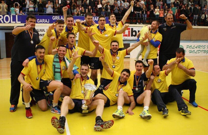 Bucuria celor de la CVM Tomis a fost imensă // Foto: Marian Muscalu (Telegraf Constanța)