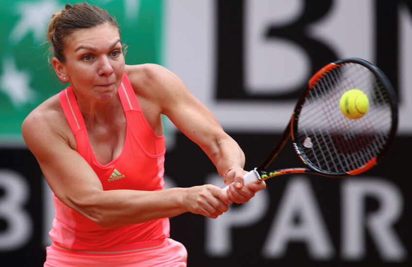 Simona Halep şi-a repetat cea mai bună performanţă de la Roma, semifinalele atinse în 2013 // Foto: Guliver/GettyImages