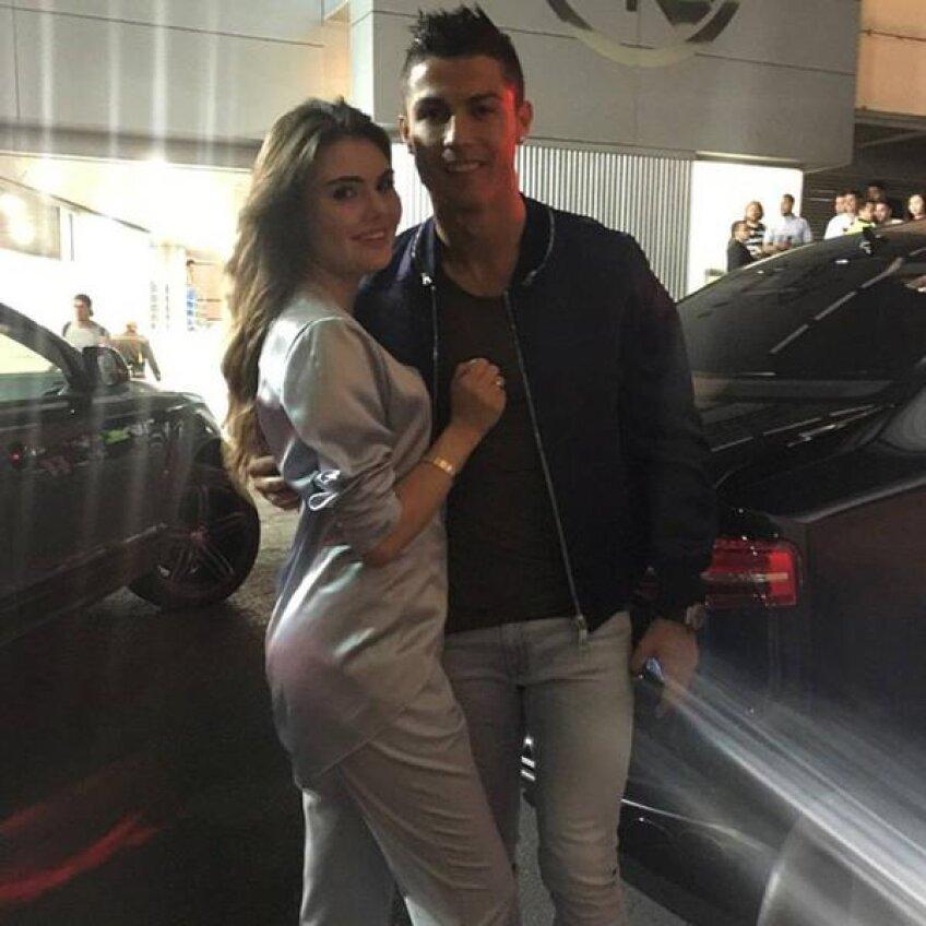 Ekaterina și Cristiano Ronaldo
