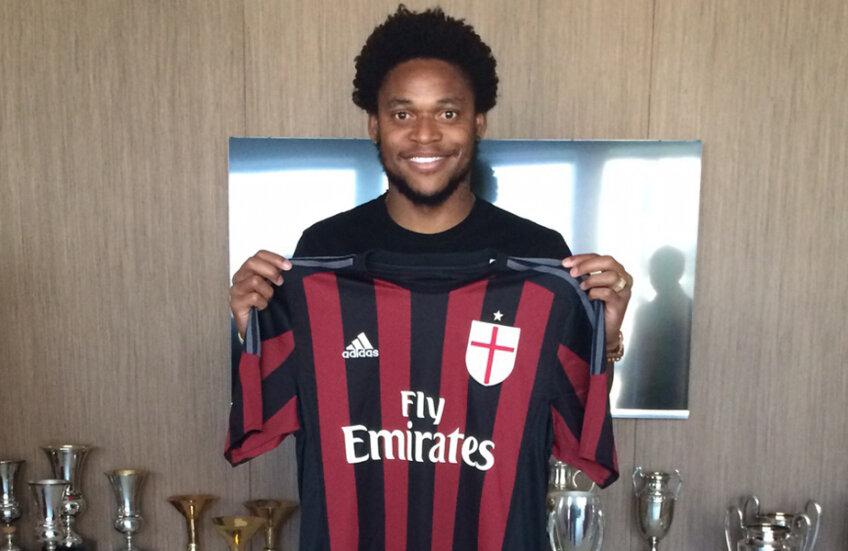Luiz Adriano a fost prezentat deja la AC Milan