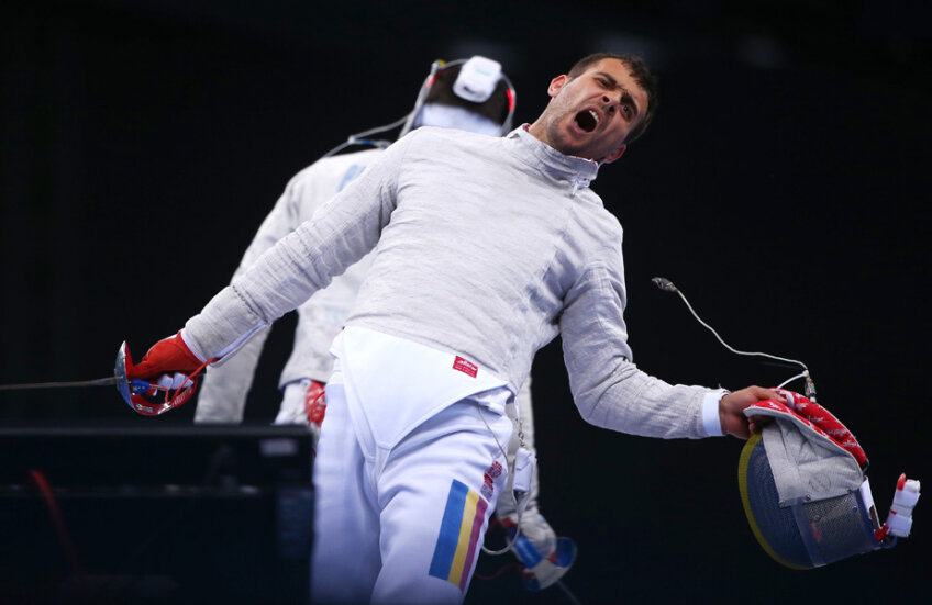 Sabrerul Tiberiu Dolniceanu a pierdut la limită locul în finala mondială în duelul cu americanului Daryl Homer