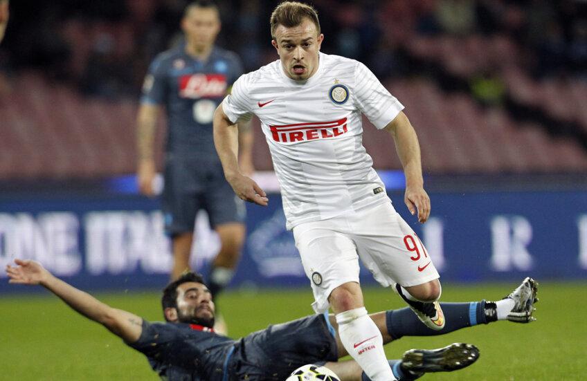 Shaqiri, venit în ianuarie la Inter, e dorit de Stoke și de Schalke // Foto: Reuters