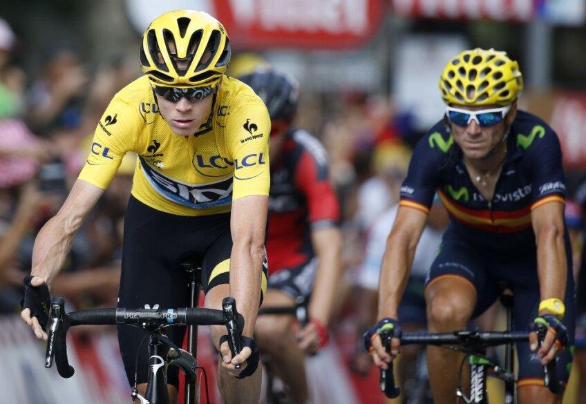 Chris Froome, în galben, domină autoritar Turul Franței, foto: reuters